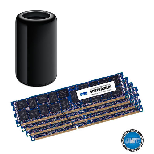OWC Memory 64GB for Mac Pro 2013 (16GBx4 DDR3 1866MHz, 2013 신형 맥프로용 메모리)