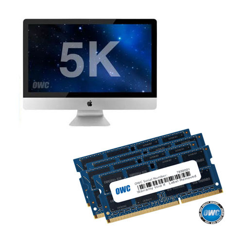 OWC Memory 64GB(32GBx2) Kit for 2019~2020 5K iMac (64G DDR4-21300 2666MHz SO-DIMM, 2019~2020년 신형 5K 아이맥용 램)